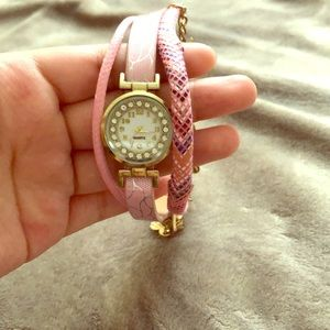 A pink watch from Mexico